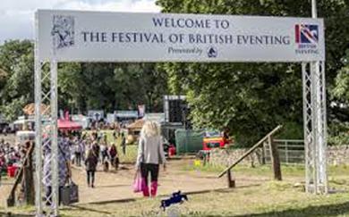 Festival of British Eventing